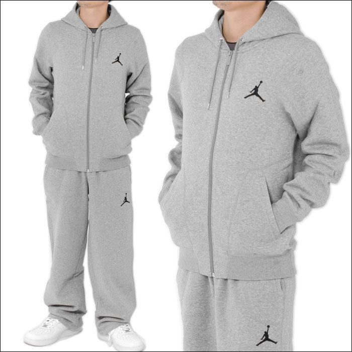 4e3dc432a0c MEN'S GREY JORDAN JUMPMAN FLEECE TRACKSUIT (BRAND NEW WITH TAGS) #fashion  #clothing #shoes #accessories #mensclothing #activewear (ebay link)