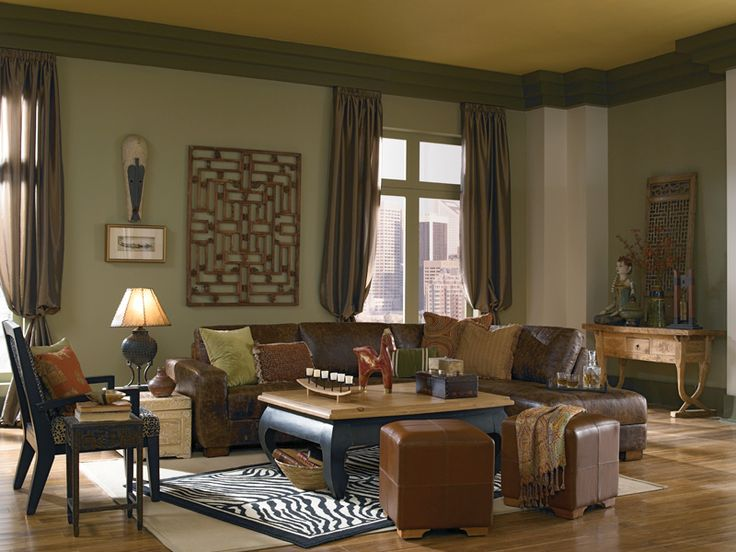 Global Living Room Walls Shortgrass Prairie Trim Promenade Ceiling Desert Moss Columns Sandstone Cliff Crown Molding And Baseboards Groundcover