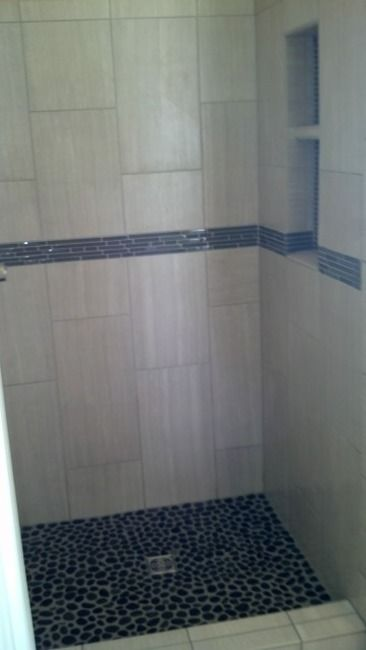 Small Bathroom With 12 X 24 Tile: 12 X 24 Tiles In Small Shower - Google Search