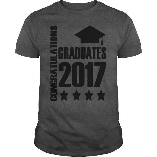 Graduate Smiley Face Kids Shirts