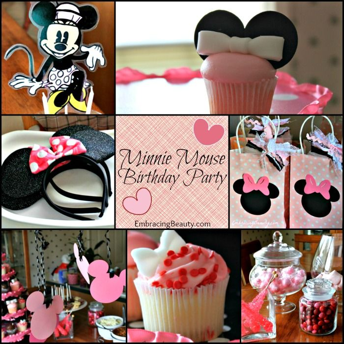 Minnie Mouse Birthday Party - how fun!