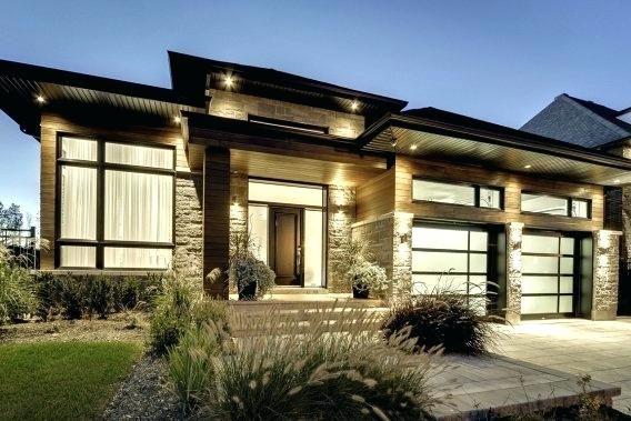 maison moderne blainville la bungalow maison contemporaine a ...