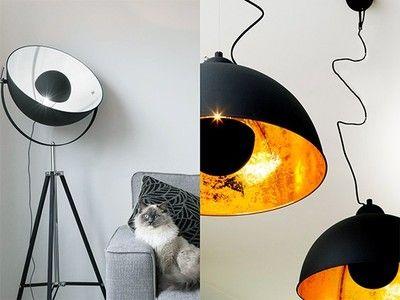 Het zonnetje in huis: golden/silver sun lamp