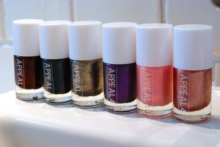 Appeal4 nail polish is a favourite brand of mine. See more at www.evabyeva.dk