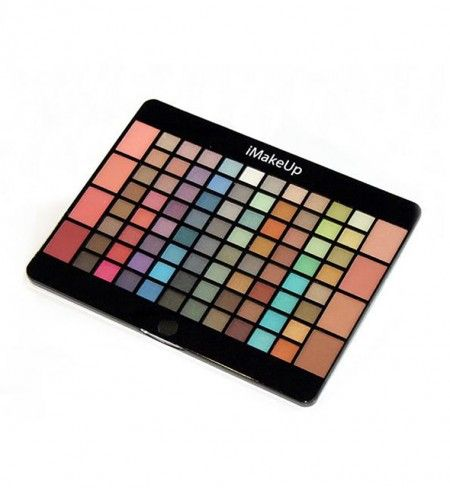Paleta de maquillaje iMakeUp perfect 88 colors de IDC#maquillajediario