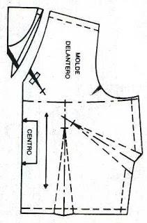 Escote en V ~ El costurero de Stella (+corrección de escote)