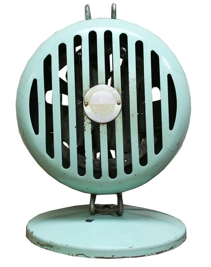 Vintage Industrial Space Heater Working Heat Fan Robin S Egg