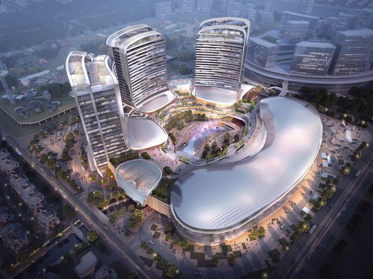 Novotown, Hengqin, Zhuhai, China, by Aedas