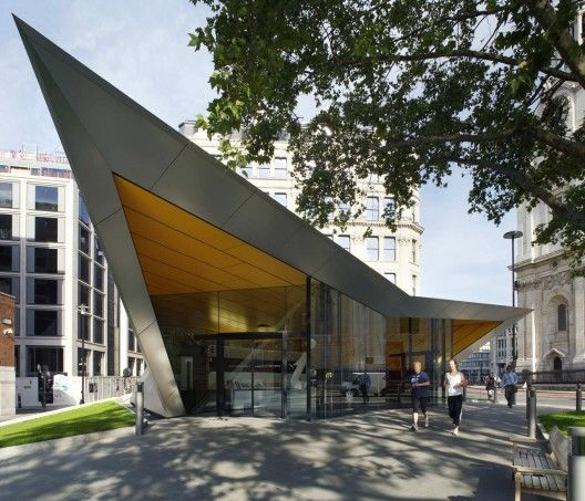 City of London Information Centre by Make Architects.  I actually used their…