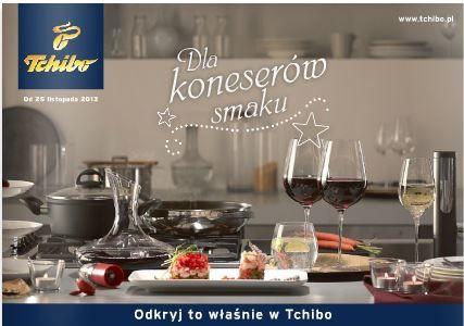 Gazetka Tchibo jak zwykle bezbłędna. Tym razem wszystko dla koneserów smaku - zastawa stołowa, narzędzia kuchenne, garnki, patelnie, kieliszki, szafki do wina. http://www.promocyjni.pl/gazetki/12101-dla-koneserow-smaku-gazetka-promocyjna