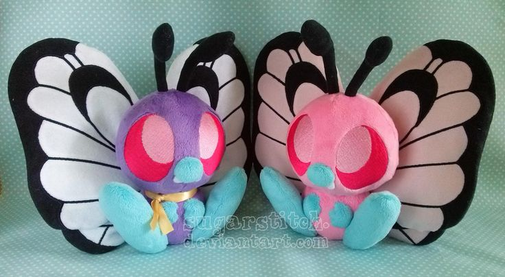 Sugarstitch Plush butterfree shiny pokemon
