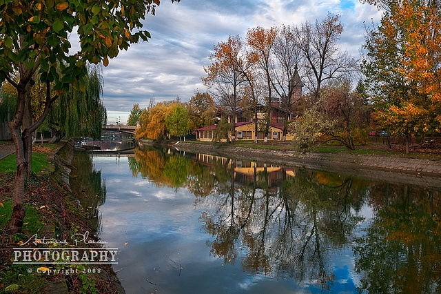 Timisoara - Bega Canal by Antonius Plaian, via Flickr