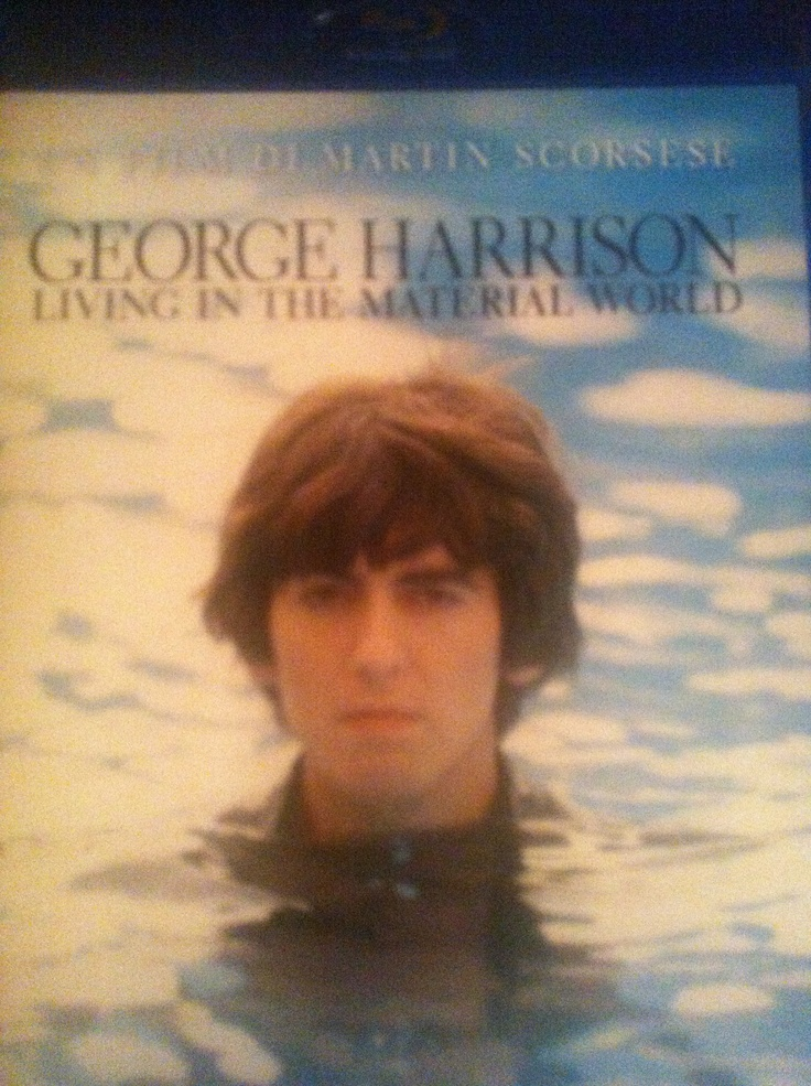"""Celebrating 50th Beatles anniversary watching at home """"George Harrison - Living in a material world"""" by Martin Scorses #gorgeous"""