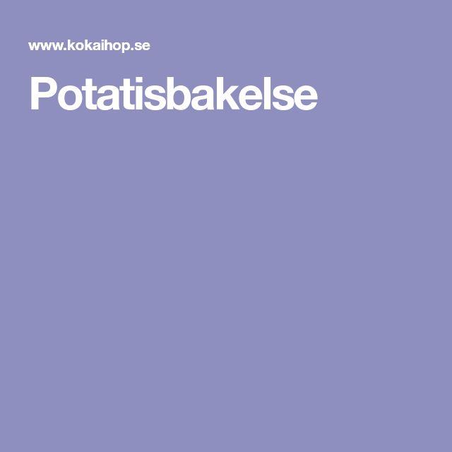 Potatisbakelse