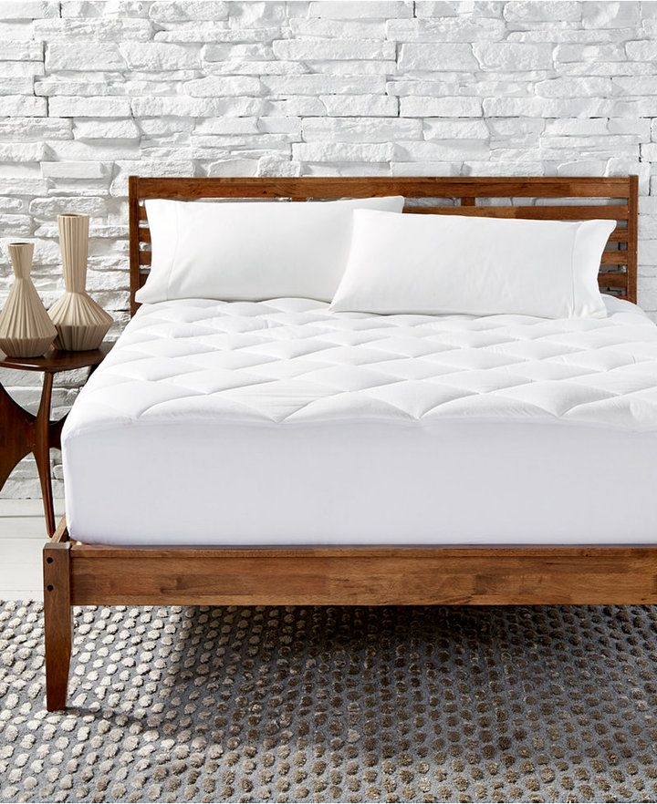 Hotel Collection Primaloft Silver Series Quilted California King Mattress Pad Created For Macy S Bedding