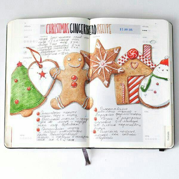 Self-made cookbook