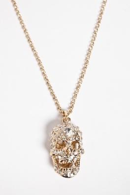 Collar Cameo Skull Oro. http://www.fashion-pills.com/accesorios/collar-cameo-skull-oro-pc-1222.html#=1