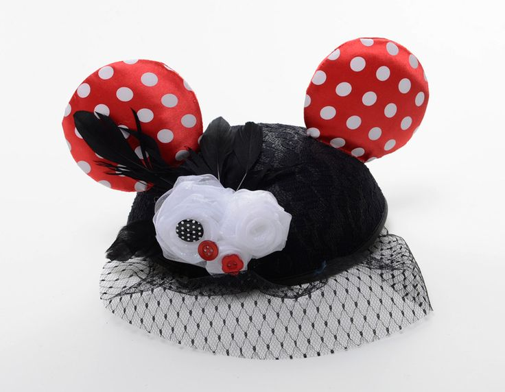 Minnie Mouse inspired, limited release Disney couture Ear Hats for the 'Year of the Ear' at Disney Parks