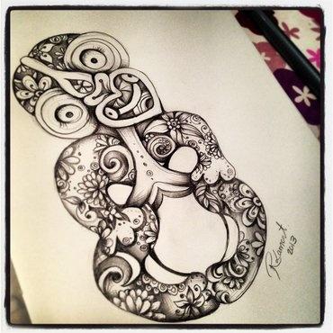 Hippie Tiki - NZ Artist Robyn Lamont