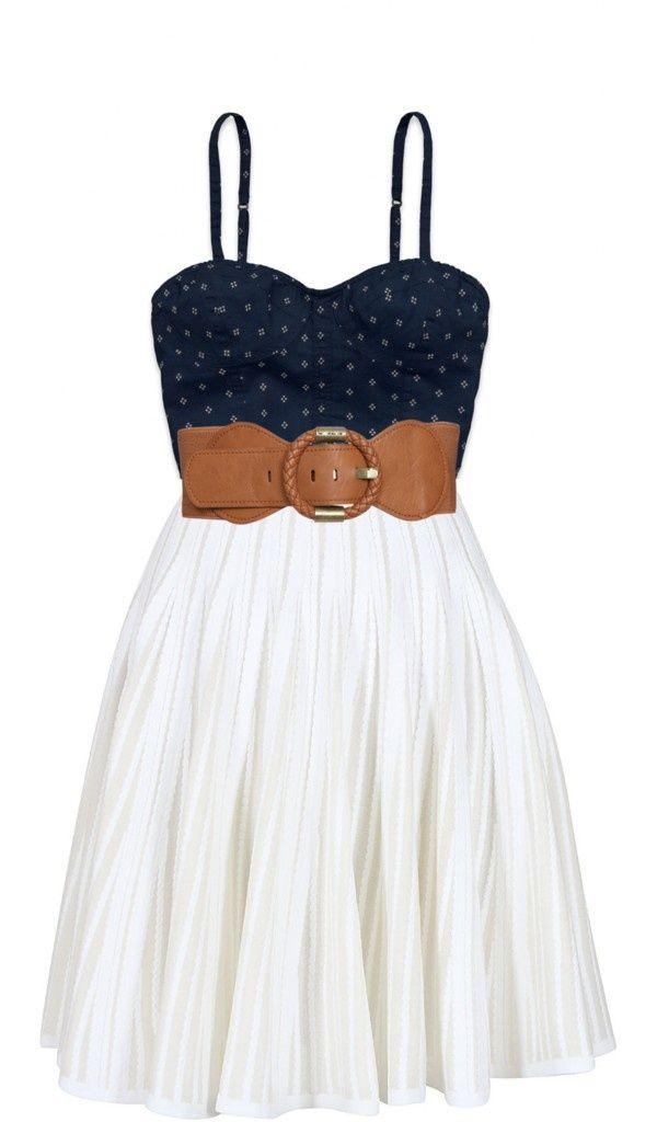 Cute summer dress. by pliziabishop on Polyvore - #fashion #beautiful #pretty mutefashion.com/
