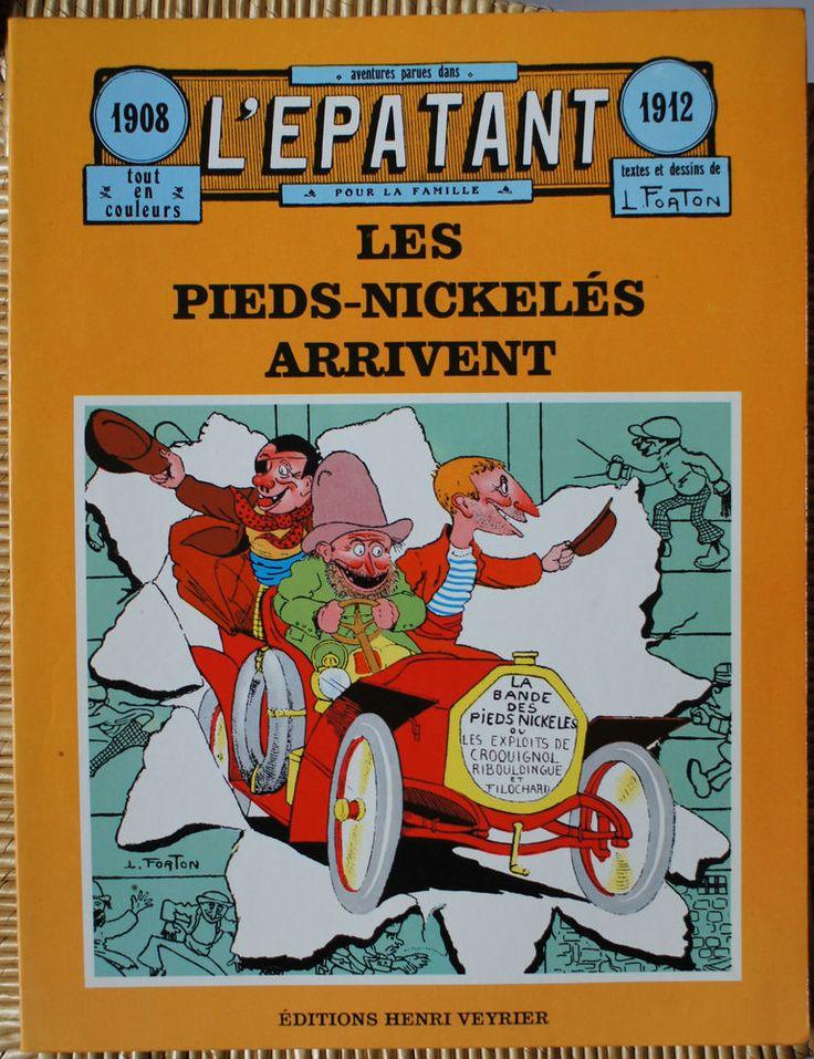 L'épatant 1908 1912 Les pieds nickelés arrivent Veyrier EO