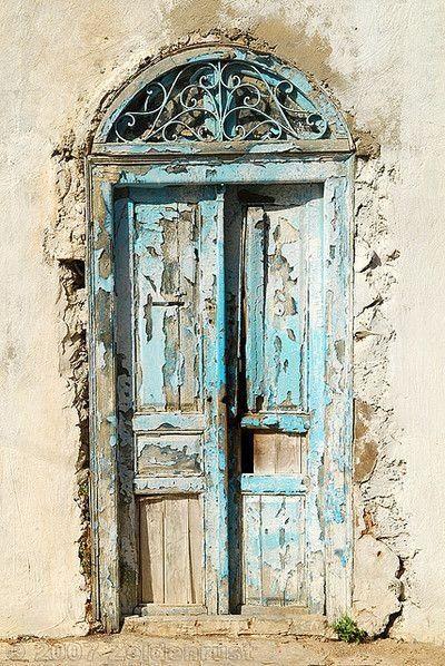 blue patina