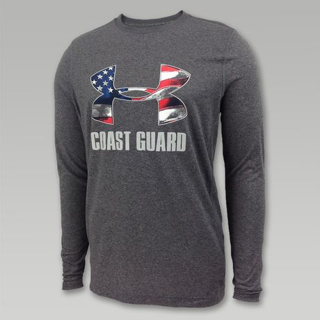 Under Armour Coast Guard Ua Flag Long Sleeve T