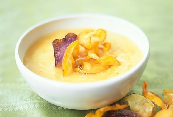 Rezept: Kartoffel-Kürbis-Suppe bei Victoria