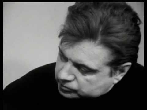 Francis Bacon in interview, 'As man realises that he is an accident and his futility, that he's completely really futile being, that he has to really play out the game without reason...all art has now become completely a game by which man distracts himself, what is fascinating actually is that it is going to become much more difficult for the artist, because he must really deepen the game to be any good at all and return the onlooker to life more violently' (1966)