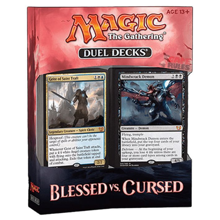 MTG: Blessed vs Cursed | Duel Decks #deckdesigner