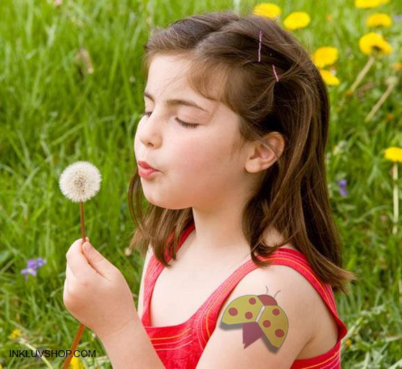 @Inkluv @Ladybird #Temptat is safe, non toxic, easy to apply & remove.  Check out #Colorful Temporary #Tattoos for #Kids at http://inkluvshop.com for just Rs. 150.  #fortheloveofit