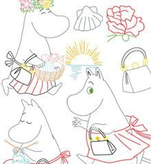 MOOMIN / Moomin Mamma - Embroidery Patterns