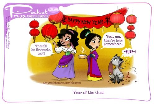 Pocket Princesses 138: Chinese New YearPlease reblog, do not...
