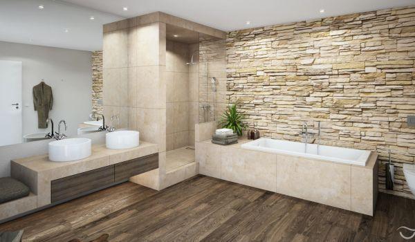 Holz Mosaik Fliesen-badezimmer fliesen ideen Bad Pinterest