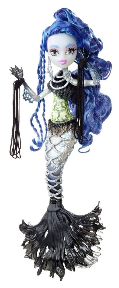 Monster High Dolls FREAKY FUSION HYBRIDS SIRENA VON BOO DOLL