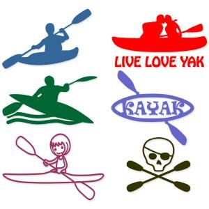 Kayak Boat Pack Cuttable Design Cut File. Vector, Clipart, Digital Scrapbooking Download, Available in JPEG, PDF, EPS, DXF and SVG. Works with Cricut, Design Space, Sure Cuts A Lot, Make the Cut!, Inkscape, CorelDraw, Adobe Illustrator, Silhouette Cameo, Brother ScanNCut and other compatible software.