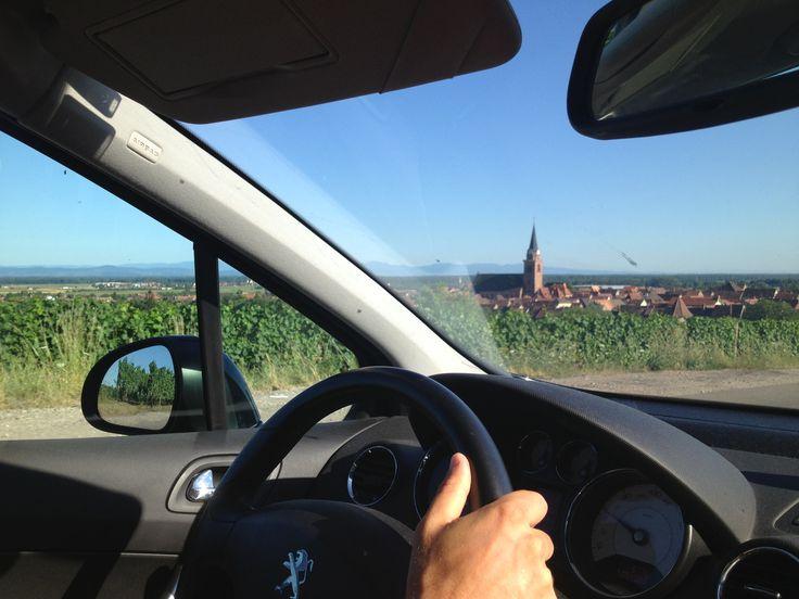 Routes des vins, Alsace