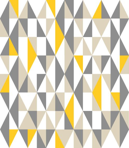 Grey Yellow White
