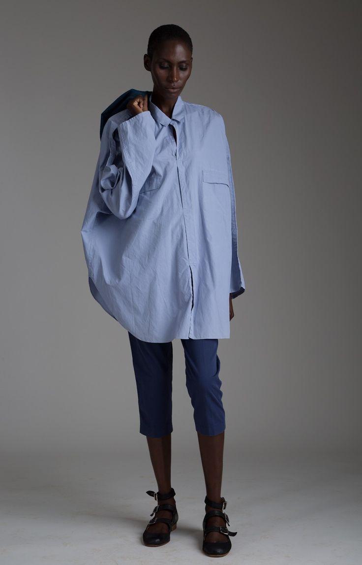 Vintage Yohji Yamamoto Oversized Shirt Designer Vintage Clothing Minimal Fashion