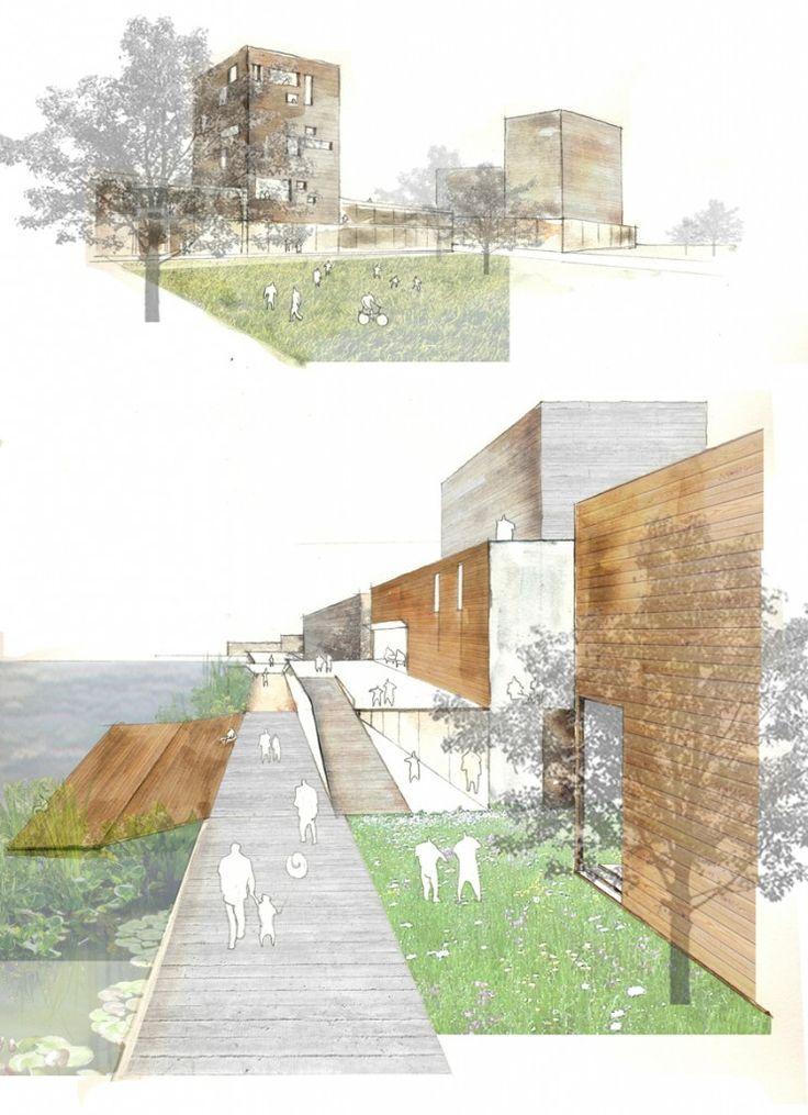 Yemin Yin – MA Urbanism @ University of East London - Relationship between buildings and open space, riverside