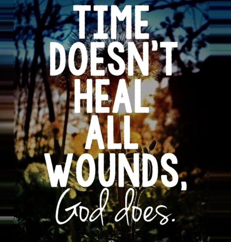 Let God heal you