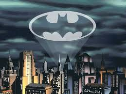 Image result for gotham city with bat signal