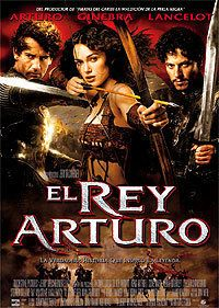 Cartel de la película El Rey Arturo