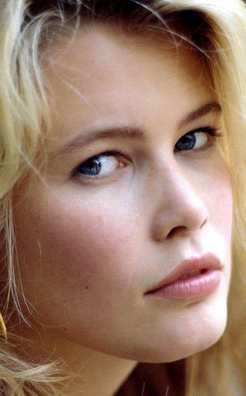 Claudia Schiffer Natural Hair Colour