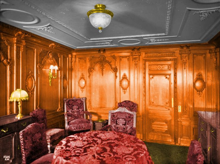 Cabin C 62 First Class Louis Xv Style Sitting Room C 62