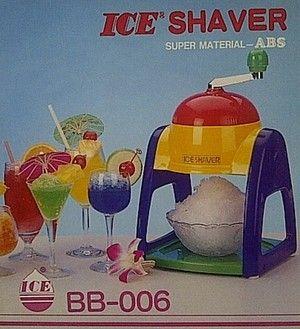 Serutan Es Manual /Ice Shaver BB-006