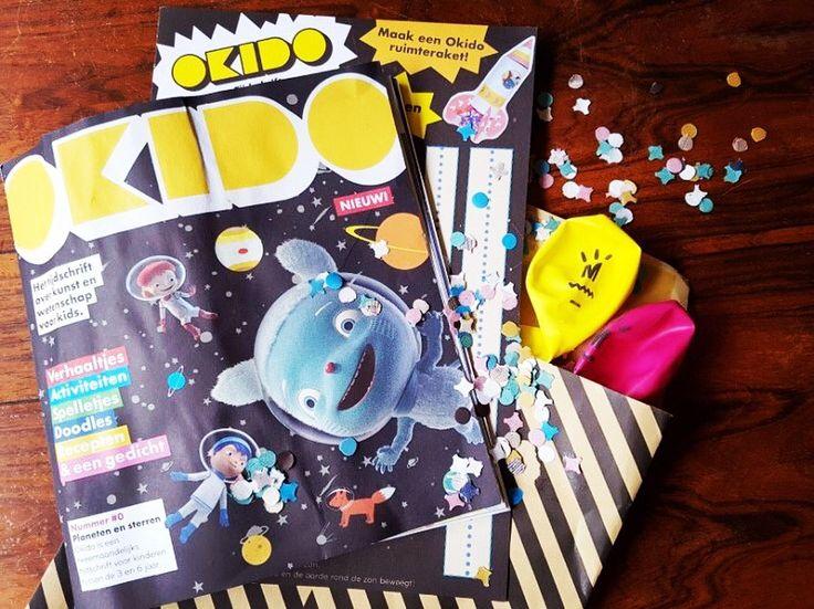 Het tijdschrift Okido van MEIS & MAAS is als een leuk feestje binnen gekomen (met confetti en ballonnen!) en het is ook echt een feestelijke aanwinst voor op de groep. Dit nieuwe tijdschrift over wetenschap en kunst is dan ook de Media van de Week. Lees onze recensie hier: http://www.kindmedia.nl/mediatip/  #tijdschrift #okido #wetenschap #kunst #kinderen #bso #kleuters #mediavandeweek #recensie #mediaopvoeding #mediawijsheid