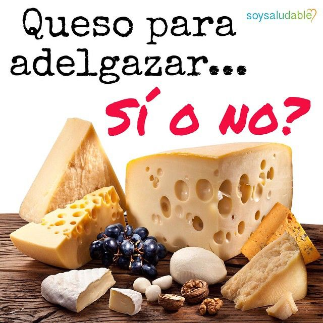 Queso para adelgazar? Sí o no? Para mi es NO. Sigue leyendo! El queso es un alimento rico y nutritivo, ideal para el crecimiento y desarrollo de los niños, por ser una excelente fuente de CALCIO, fósforo, vitaminas y proteínas de alto valor biológico. Está demostrado que el calcio participa junto a otras enzimas que regulan la lipólisis (destrucción de la grasa para ser utilizada como energía!!!), y por lo tanto hay una disminución del contenido de grasa en los adipocitos o células de grasa…