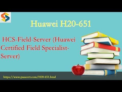 Passed H20-651] HCS-Field-Server H20-651 sample questions