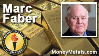 Marc Faber on Cashless Society Insanity and Why Wall Street Hates #Gold | Money Metals Exchange